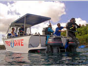 boat dive at nusa penida diving